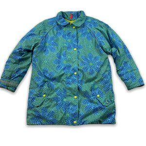 Hanna Andersson Girls Floral Insulated Jacket 12